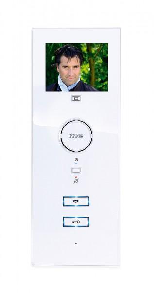 3,5 Zoll Monitor & Freisprechen,SD, Farbe weiß
