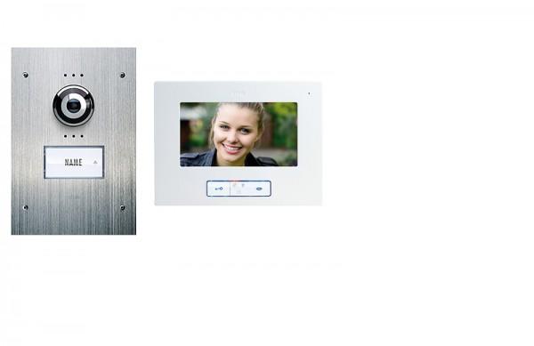 E2W Video-Türsprechanlage 1- oder 2-Fam.-Haus (UP)