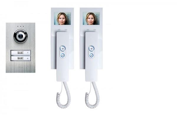 2-Fam.-Haus-Set Compact m. Innenstation mit Hörer