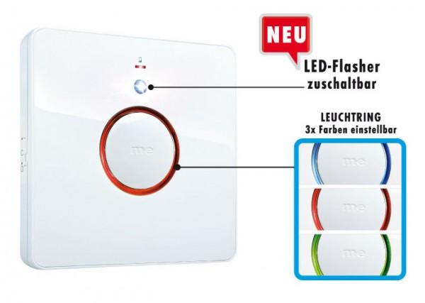Zusatz-Empfänger (Bell-Serie) m. Leuchtring und Flash