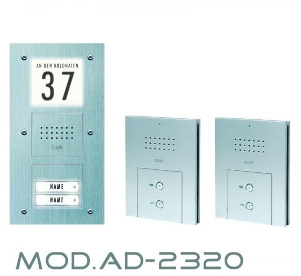 Audio-Türsprechanlage für 2-Fam.-Haus - SONDERPREISAKTION