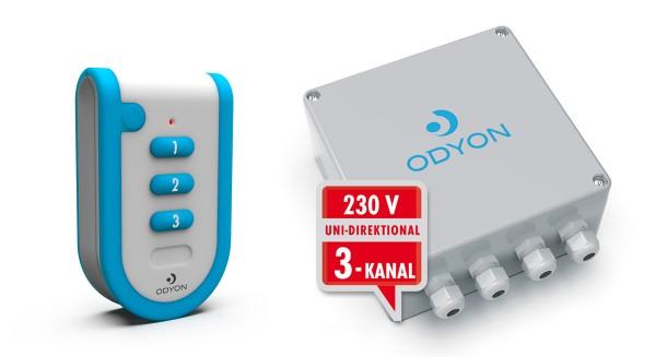 ODYON Promo-Set 3 uni, 3-Kanal