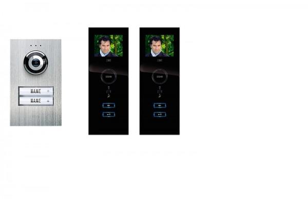 2-Fam.-Haus-Set Compact m. Innenstation 3,5 Zoll