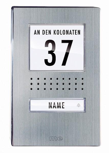 Edelstahl Aussenstation für 1-Fam.-Haus