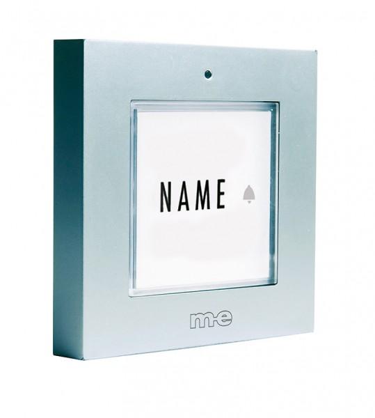 Funk-Klingeltaster für 1, 2-Fam.-Haus, wahlweise in Farbe silber oder anthrazit