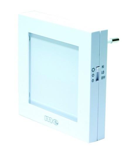 Automatisches LED-Nachtlicht, weiß, 1/2/3 Stck. B-Ware