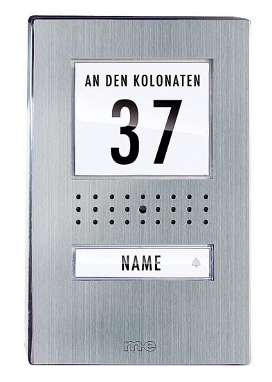 Aussenstationen Aufputz für 1- und 2-Fam.-Haus