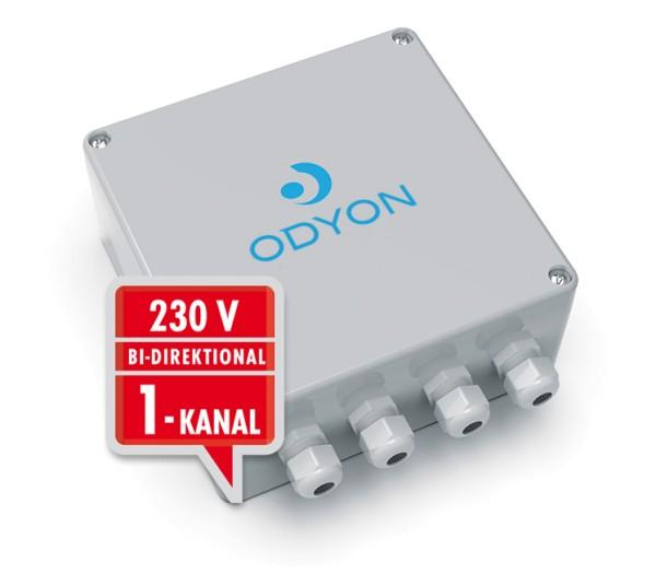 Wandempfänger 230V, bidirektional, 1-Kanal