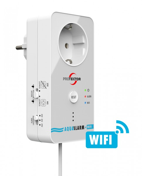 Wasseralarm mit WiFi Alarm-Weiterleitung