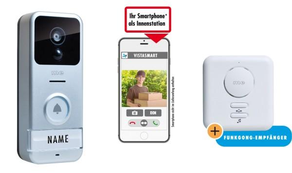iP / WLAN Video-Türsprechstation für Smartphone, 1-Fam.-Haus
