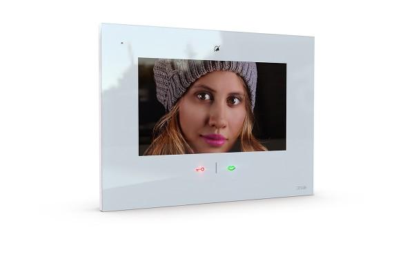 7 Zoll Monitor iP (App), Bildspeicher, Freisprechen, Sensortouch & mp3