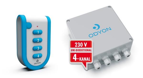 ODYON Promo-Set 4 uni, 4-Kanal